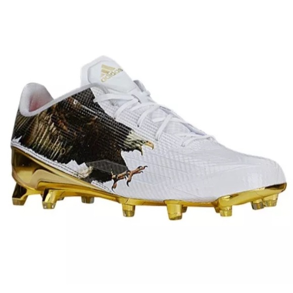 new styles a3524 531ed Adidas Adizero 5 Star Uncaged Eagle Mens Cleats 10
